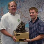 Curt Schilling- fantasy football trophy