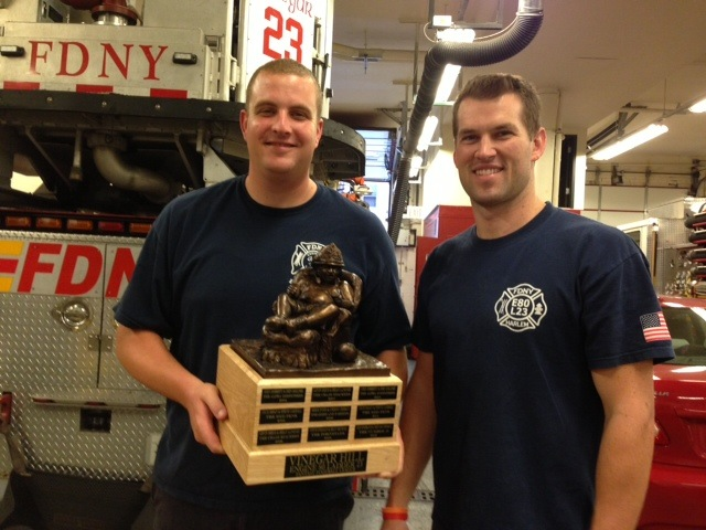firefighters trophy
