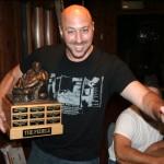 2 time champion, Dino Ferrando