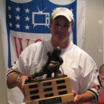 Da Commish  proudly displays the Mike Ditka M.V.P. Trophy