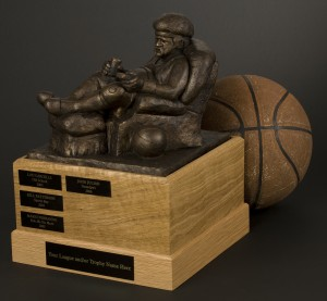 Fantasy Basketball Trophy-  The Armchair Big Man