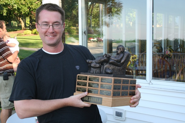 """""""The greatest fantasy football trophy out there.  The others should stick to pee-wee football leagues.""""  Jim"""