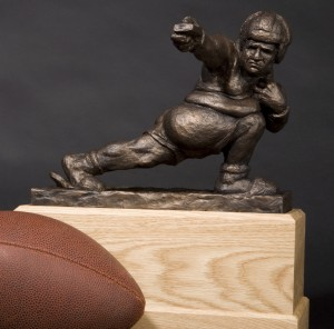 The Throwback- Fantasy Football Trophy