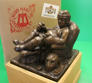 Our fantasy hockey trophy has arrived - The Armchair Goon