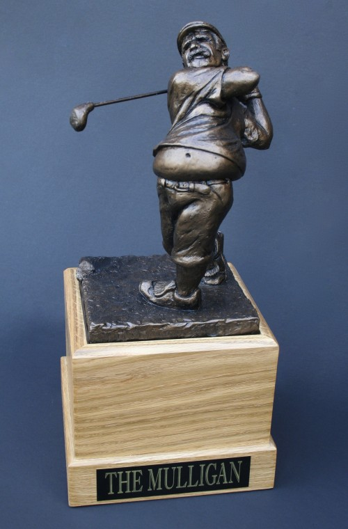 The Mulligan golf trophy