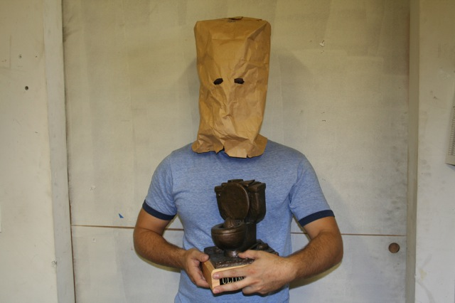 A fantasy football trophy you definitely don't want your name on