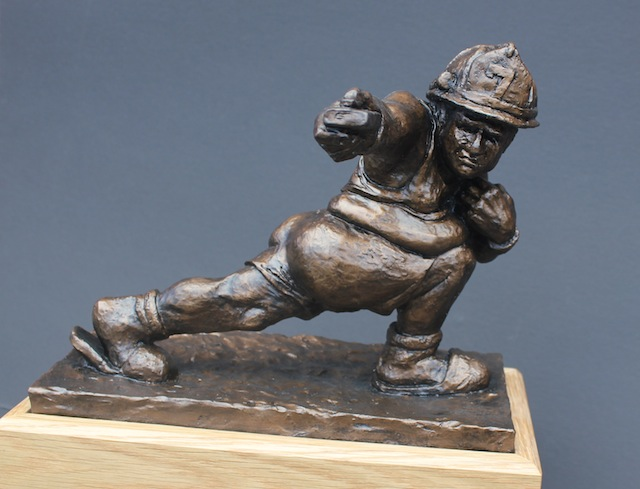 fantasy football trophy for firefighters