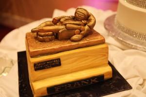 The Armchair QB as a cake