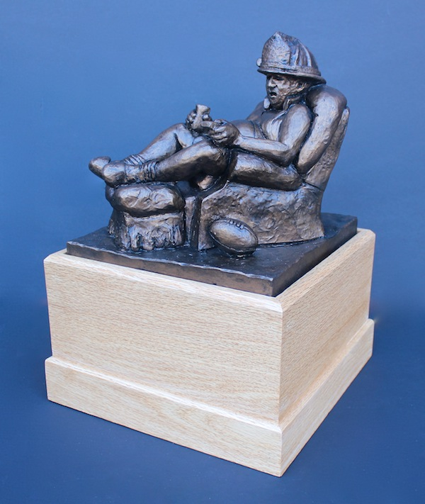 firemen fantasy football trophy